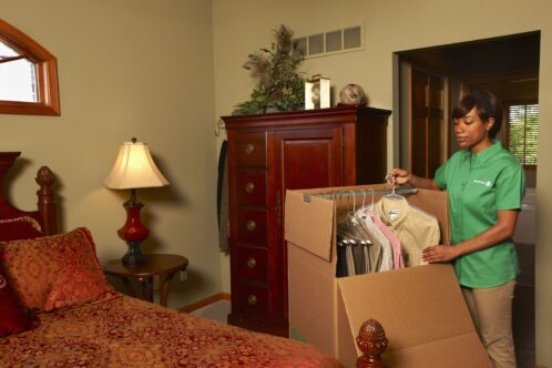 Moving tips on How to Pack a Family Room