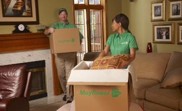 Mayflower Family Room Packing Tips
