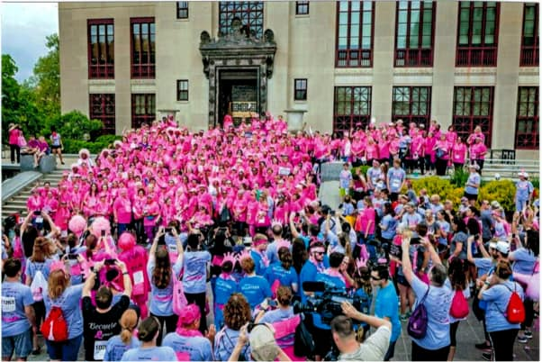Sponsoring the 26th Annual Susan G. Komen Columbus Race for the Cure
